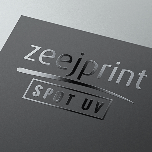 Business cards with Spot UV